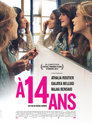 A 14 ANS – un film de Hélène Zimmer – Sortie en salle le 25 février 2015