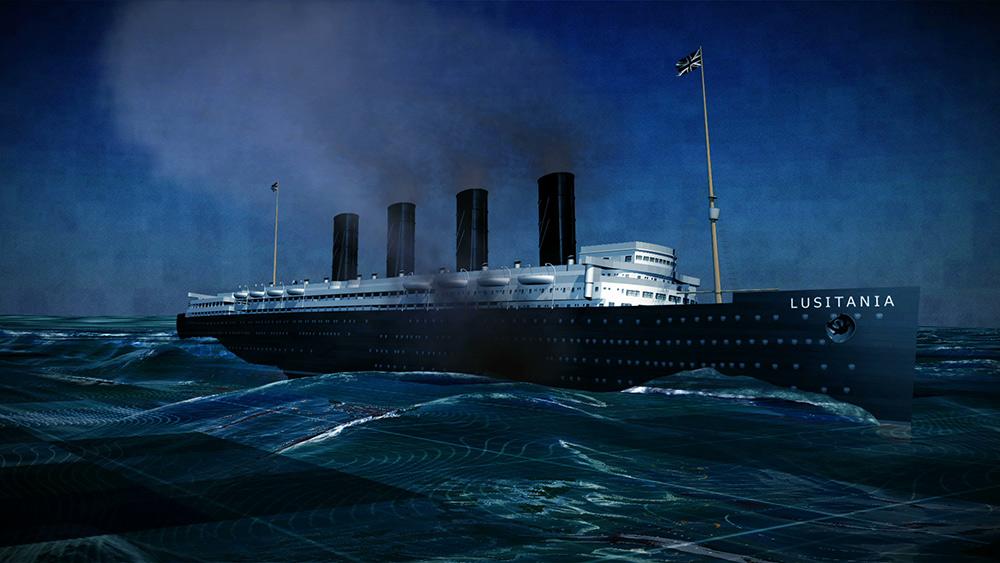 Le naufrage du Lusitania