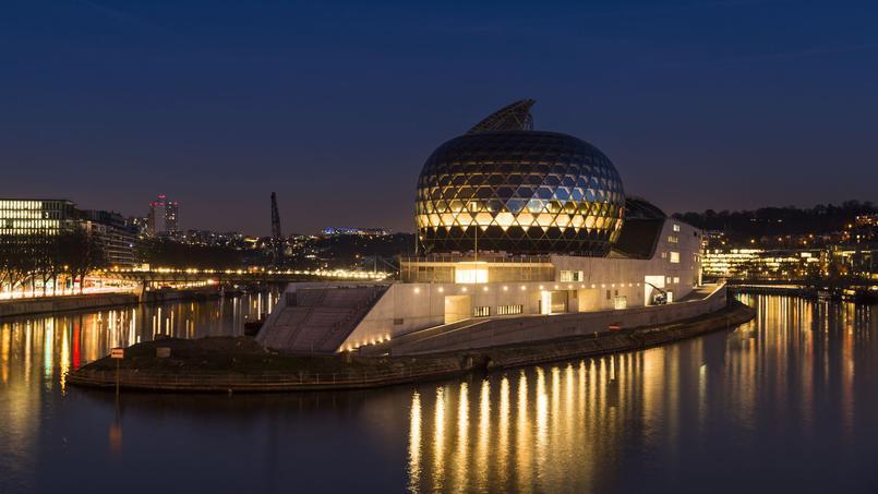 Gala d'ouverture de la Seine Musicale à l'île Seguin
