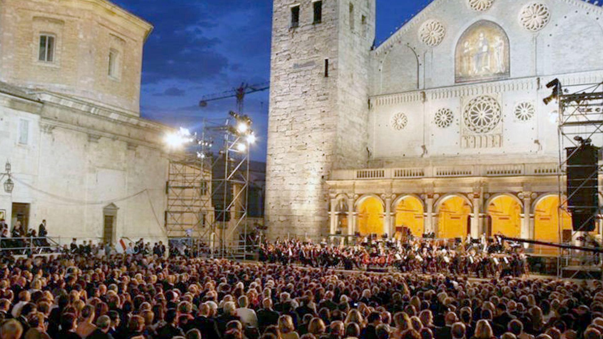 Spoleto, les arts en scène