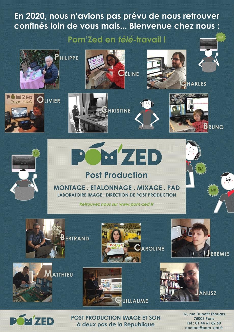 Pom'Zed en télé-travail